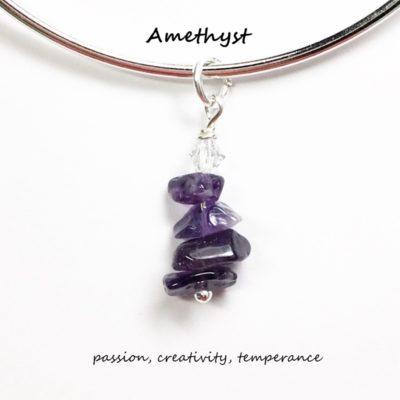 Amethyst Charm