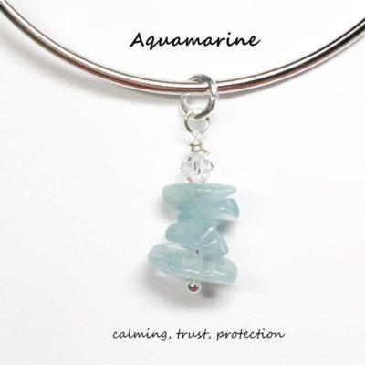 Aquamarine Charm