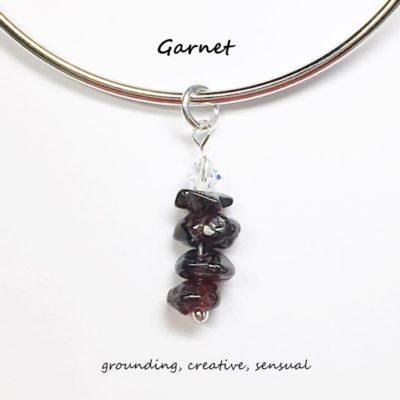 Garnet Charm