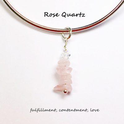 Rose Quartz Charm
