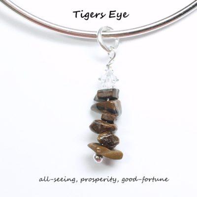 Tiger Eye Charm